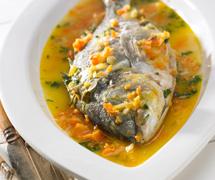 Hauptgerichte mit Fisch & Meeresfrüchten