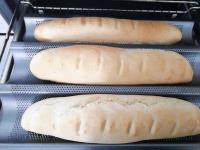 Schnelle Baguette mit Trockenhefe