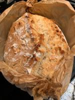 """Brot im Backpapier """"eingezwirbelt"""" gebacken"""
