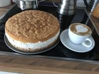 Mit Cappuccino unschlagbar!