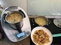 Thai Curry mit Hähnchen und Reis !