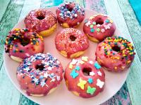 Unsere Ofen Donuts