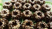 Mini Eierlikörkuchen mit Schkoguss