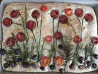 Heute mit herbstlichen Blumendekor