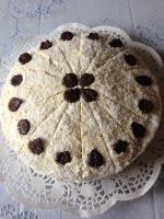 Rübli-Torte mit Kokosflocken
