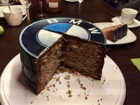 Wunderkuchen gefüllt mit Rocher Creme