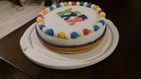 Schulwettbewerb-Torte