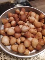 Türkische süßspeise Lokma