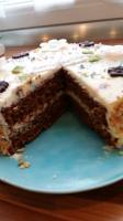 Anschnitt Carrot Birthday-Cake