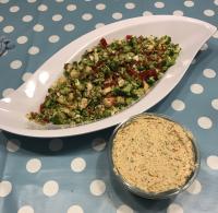 Brokkoli-Salat mit Brokkoli Aufstrich