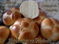 Dinkel-Milchbrötchen