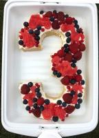 Kuchen zum 3. Geburtstag