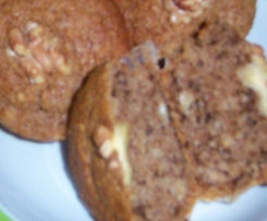 Irisch Coffee- Nuß- Muffins