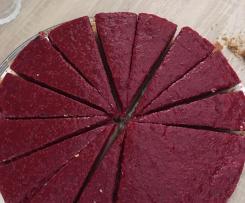 Himbeer-Kokos-Milchreis-Kuchen