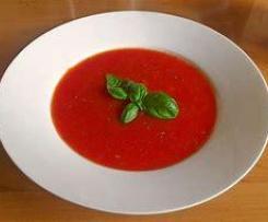 Frische Tomatensuppe alla Hans