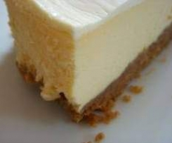 Cheesecake White Chocolate (unbaked)