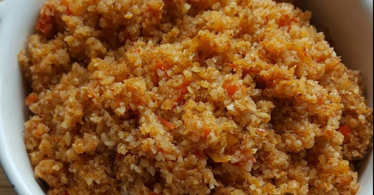 buchweizen bulgur gem se pilaw vegan glutenfrei von miss quinoa ko ein thermomix rezept. Black Bedroom Furniture Sets. Home Design Ideas