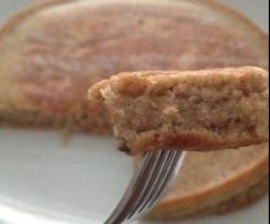Vegane American-Banana-Pancakes (Vollkorn)