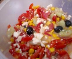 Griechischer Bauernsalat schnell und einfach