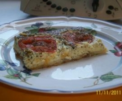 Tomaten-Käse-Kuchen