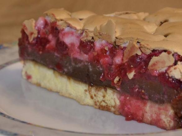Johannisbeer Pudding Baiser Kuchen Von Zaza77 Ein Thermomix