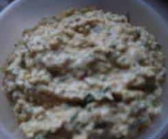 Eiersalat /Brotaufstrich mit Speck