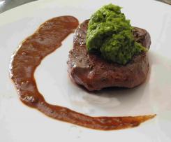 Petersilienpüree zu Fleisch oder Fisch