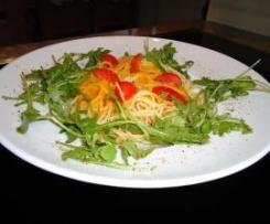 Spaghetti mit feiner Kürbissoße