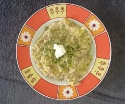Lauch-Käse Nudeltopf