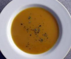 Süßkartoffel-Chili-Suppe