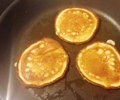 Pancakes mit Apfel total fluffig und lecker