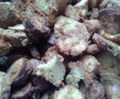Honig-Senf Laugenknabberei (Snyders honey mustard & onion)