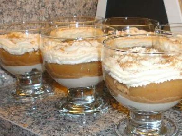 Dessert Weihnachten Thermomix.Bratapfel Schichtdessert