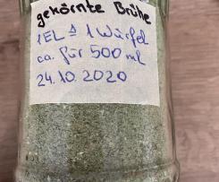Brühe, trocken - Alternative zu Gemüsepaste