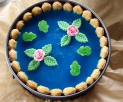 Seerosen-Teich-Torte (Philadelphia-Torte)