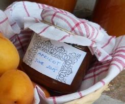 Aprikosenmarmelade ohne Zucker