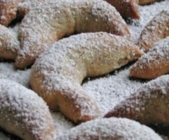 Vanillekipferl ohne Nüsse oder Mandeln