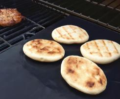 Grillbrot, Grillbeilage, Naan-Brot, Brot vom Grill