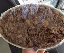 Tiramisu mit Cookies und Trauben