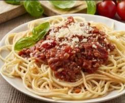 Spaghetti mit Bolognese Soße