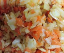 Variation Krautsalat
