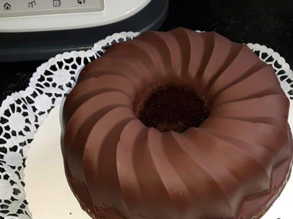 Schokoladenguss Wie Vom Backer Von Sabhe Ein Thermomix Rezept Aus