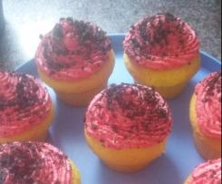 WM Deutschland Cupcakes