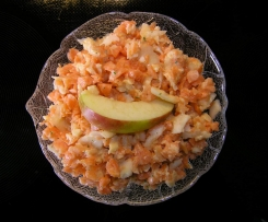 Möhren-Sellerie-Apfel Salat