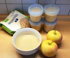 Apfel-Haferflocken-Brei (OGB) * Nachmittagsbrei auf Vorrat