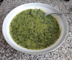 Bärlauch Kartoffel Suppe