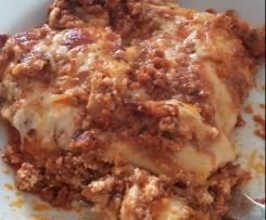 """""""Leichte"""" Variation von Lasagne al Forno - saulecker!"""