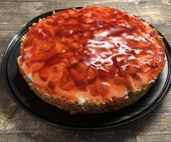 Erdbeer-Haferflocken-Kuchen WW-Variante