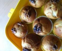 Bananen Muffins mit Müller Milch