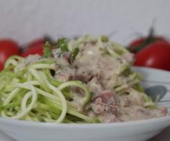 vegane Carbonara-Spaghetti-Sauce